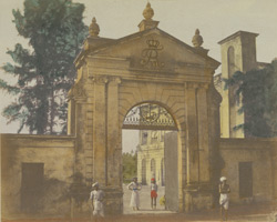 Old Danish gate, Serampore